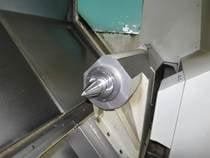 CNC Drehmaschinen Innenansicht